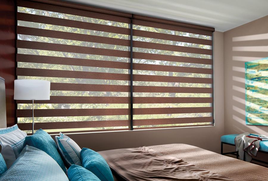 bedroom banded shades best blackout solutions Hunter Douglas ST Paul 55331