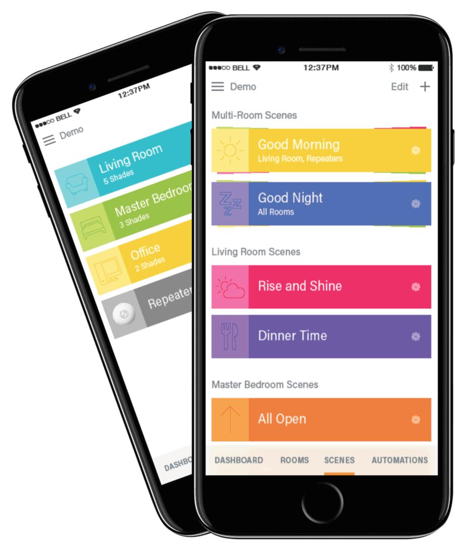smart shades app for energy saving Hunter Douglas St Paul 55331