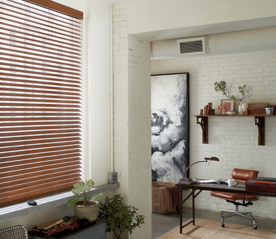 entryway faux wood blinds Minneapolis MN
