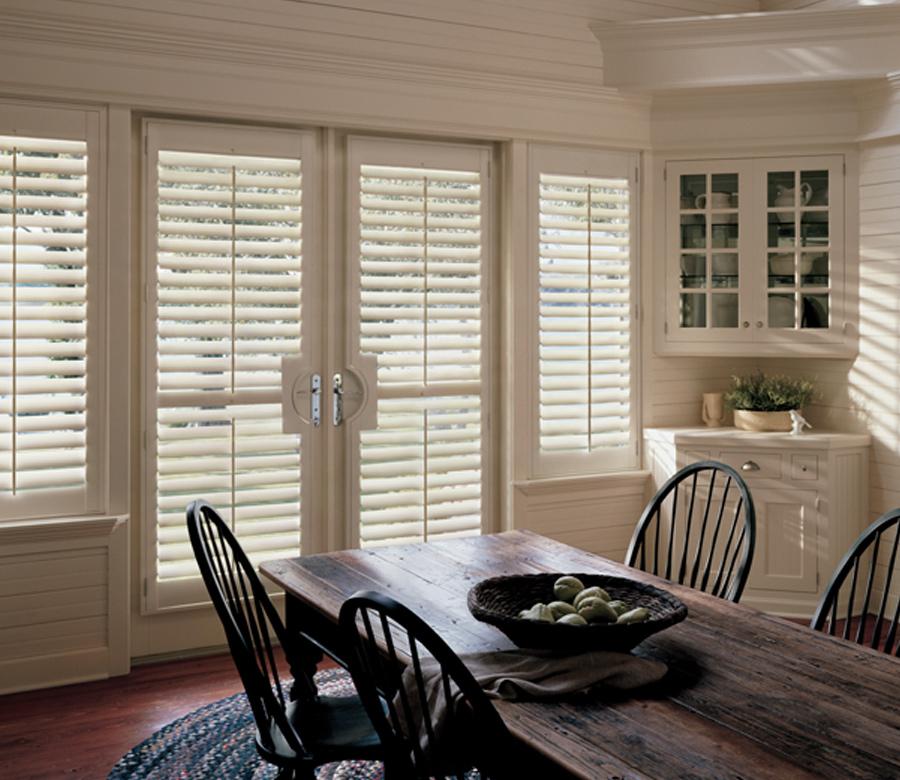 hardwood shutters french door shutters Maple Grove mn