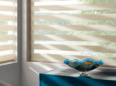 Hunter Douglas banded shades Minneapolis St Paul MN