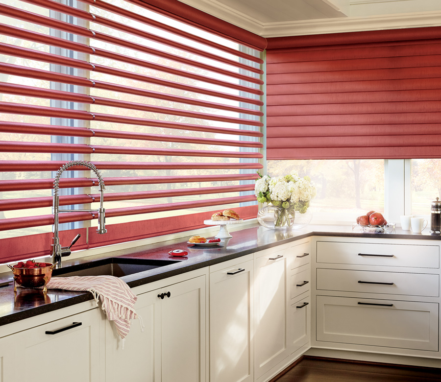 red pirouette window shades minneapolis mn