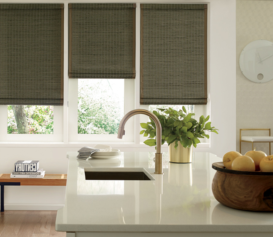 Hunter Douglas Provenance woven wood shades St Paul MN