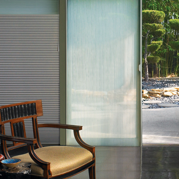 Hunter Douglas vertical blinds to cover sliding glass doors Burnsville 55337