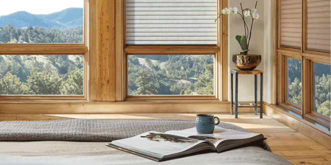best insulating window treatments duette honeycomb shades Hunter Douglas St Paul 55113
