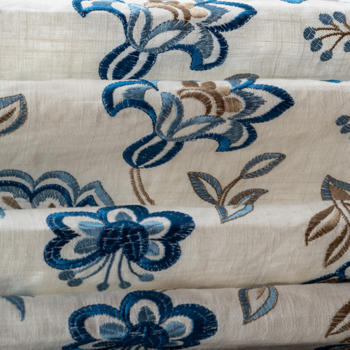close up custom fabric for window treatments Minneapolis MN