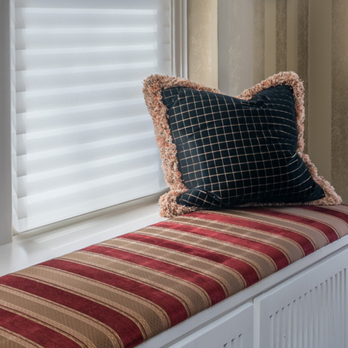 Custom window treatments and home decor accents Maple Grove MN