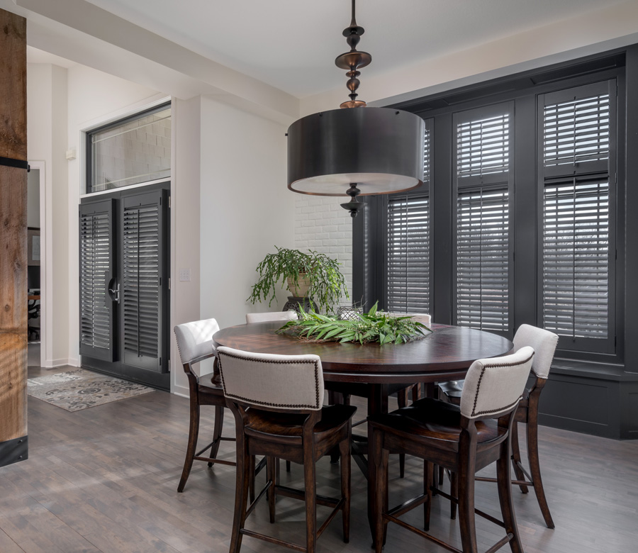Hunter Douglas real wood plantation shutters for windows and french door shutters Maple Grove 55369