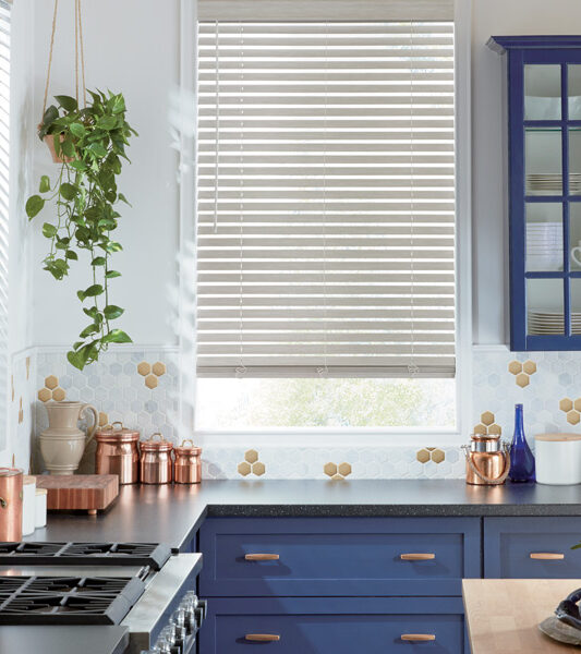 Hunter Douglas kitchen blinds as remote control blinds Maple Grove MN