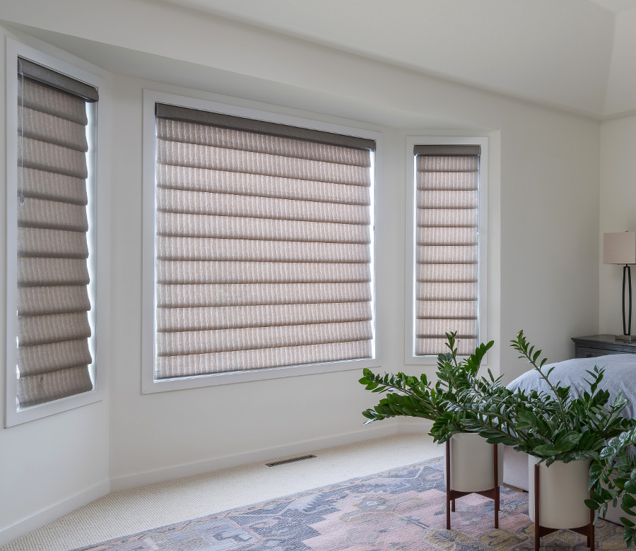 Vignette Modern Roman Shades Hunter Douglas Minneapolis