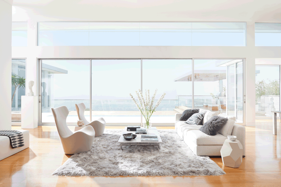 harsh light minimalism home design Hunter Douglas St. Paul 55113