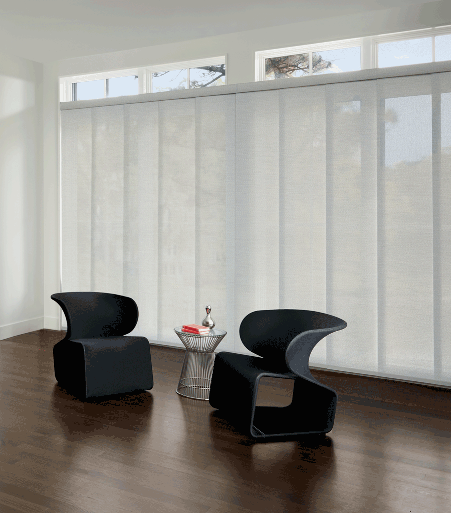 Glass Slider Door Window Treatment Inspiration   Salon Hecho Decor