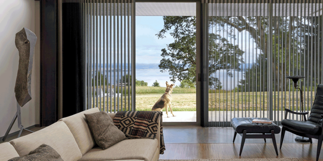 find hunter douglas sliding glass door window treatments near St Paul 55113