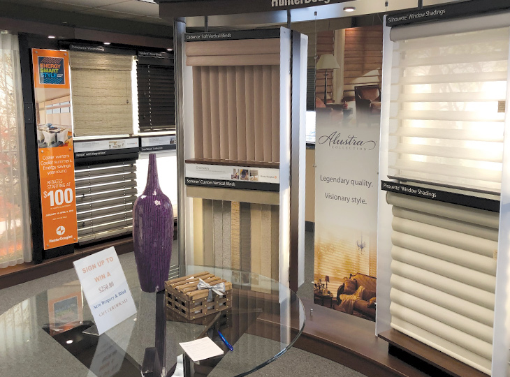 showroom shades and blinds Hunter Douglas  Little Canada 55117