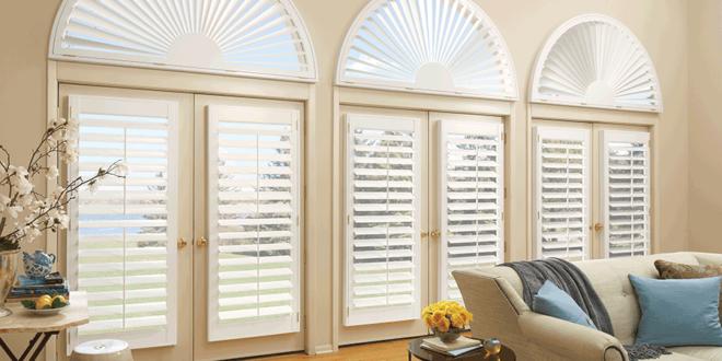 arched window treatments Hunter Douglas St Paul 55113