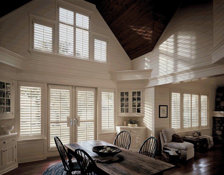 plantation shutters are a great way to revamp your room in a simple and quick way