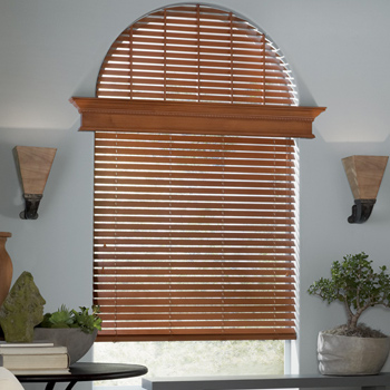 arched window treatment solutions