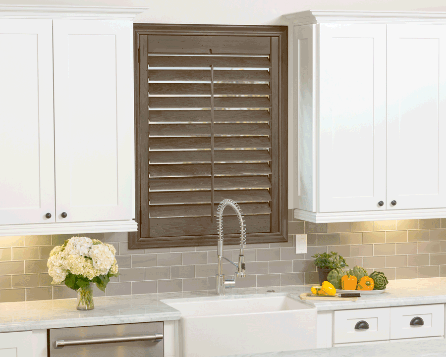 Plantation shutters are the perfect farmhouse window treatment for your Minneapolis home.