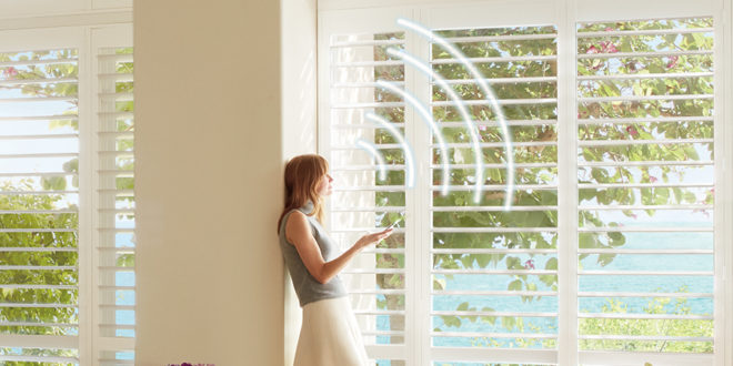 window covering innovations like voice controlled shades Minneapolis St Paul