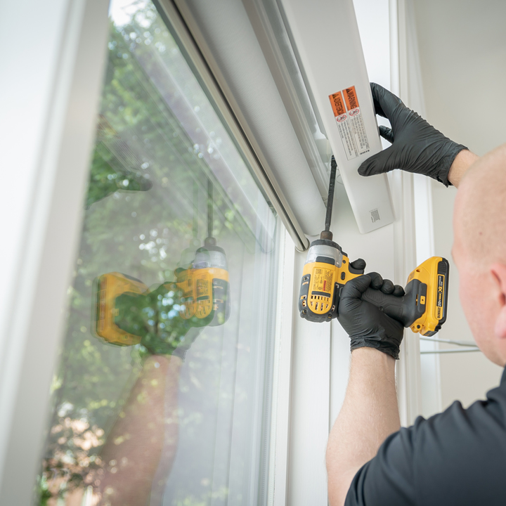 professional installation of window coverings in St Paul MN
