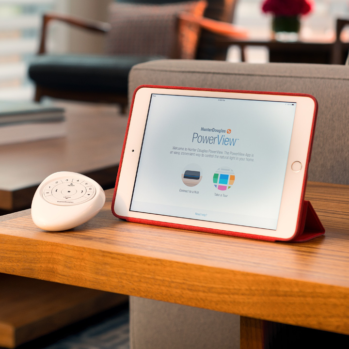 control your smart shades with remote control or ipad Maple Grove MN