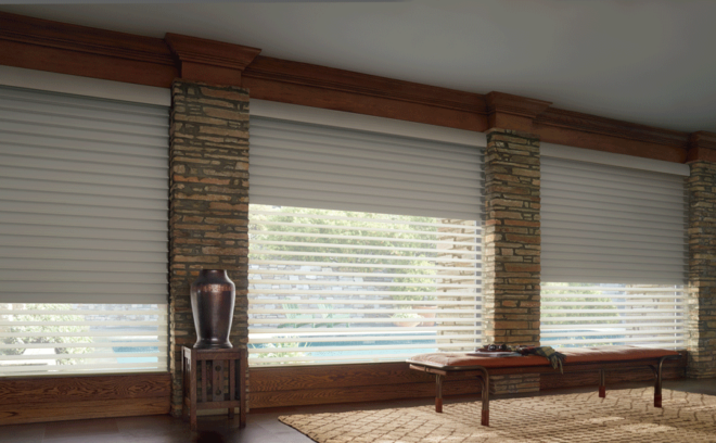Room darkening to blackout shades are perfect for the longer, sunnier days of Spring coming up.