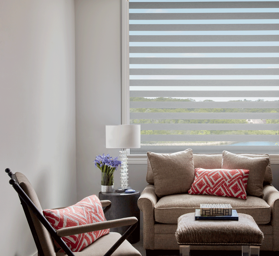 Base shades lay the foundation for layer window treatments.