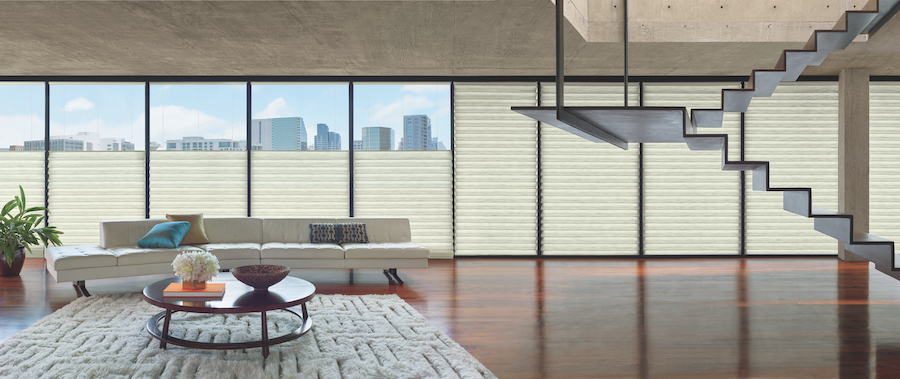 energy efficient automated shades in Minneapolis MN condo