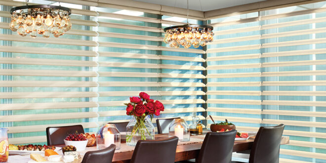 updated dining room with blinds Minneapolis, MN