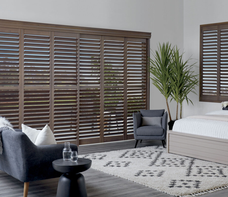 newstyle shutters master bedroom minneapolis MN