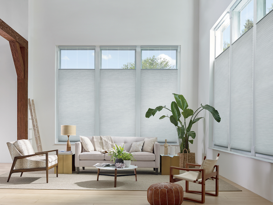 energy efficient applause honeycomb shades in Minneapolis, MN