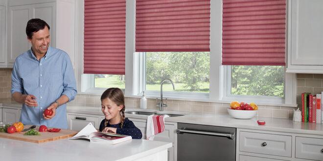 kitchen window shades in St Paul, MN