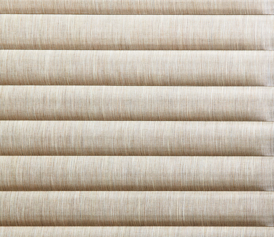 close up of fabrics for sonnette cellular roller shades in St Paul MN