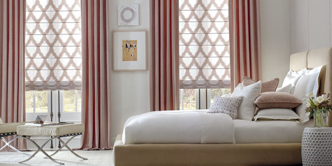 spring refresh patterned drapes minneapolis bedroom