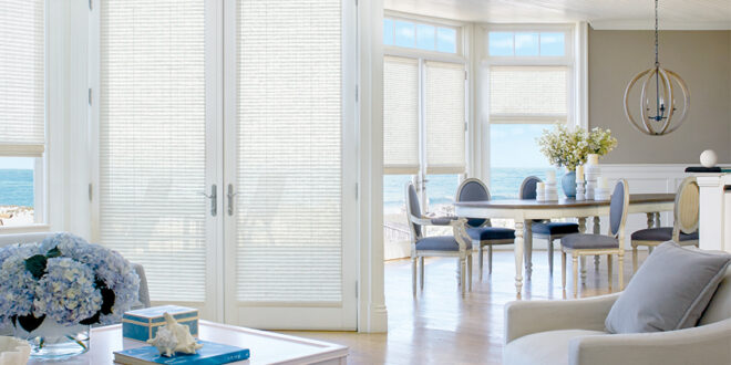 covering doors honeycomb shades in minneapolis home