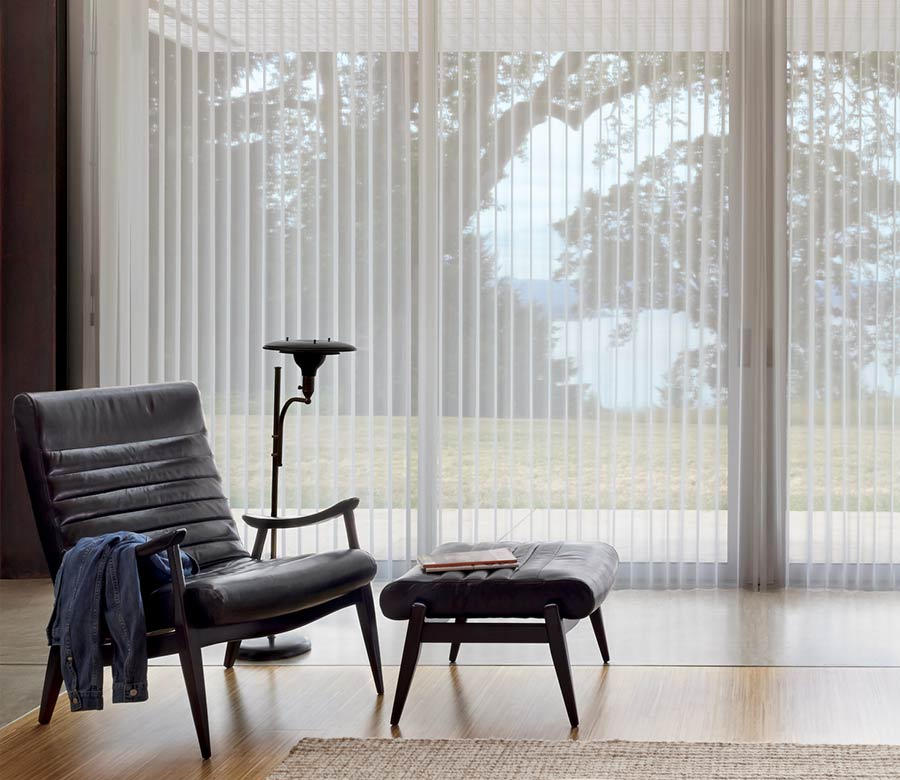 best window treatments for large windows vertical shades st paul mn