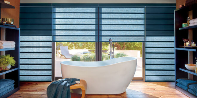 two in one shades offer dual control window treatments in Minneapolis area homes